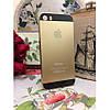 Чехол пластик Золотой с черным с логотипом на IPhone 5/5S infinity, фото 6