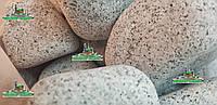 ГРАНИТНАЯ ГАЛЬКА Arctic Grey Грузия 8-13cm (ГАБИОН) 1т, фото 1