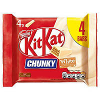 Батончики Kit Kat Chunky White Упаковка