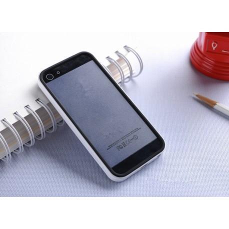 Бампер SGP Neo Hybrid EX Slim Black/White для iPhone 4/4S infinity