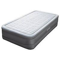 Надувная кровать Intex 64472 встроенный электронасос Односпальная
