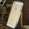 Бампер Aluminum Knuckle для iPhone 5/5S Серебристый infinity, фото 3