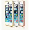 Бампер Swarovski for iPhone 5/5s Серебристый infinity, фото 8