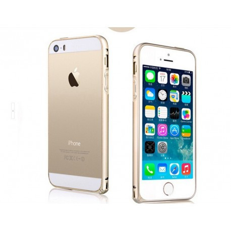 Бампер Тонкий алюминевый для IPhone 6/6S Золотой infinity