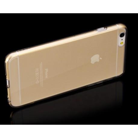 TPU чехол Rock для Apple iPhone 6/6S (4.7) Прозрачный Золотой infinity