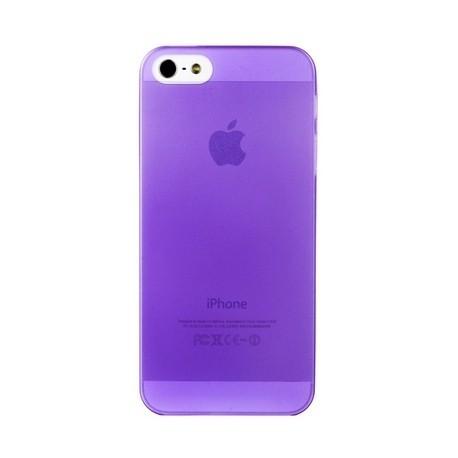 Накладка супертонкая для IPhone 5/5S Фиолетовая infinity