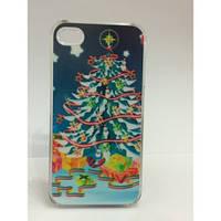 Чехол для iPhone 4 - Новогодняя елка -10432 infinity