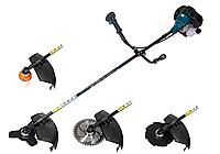 Мотокоса РИТМ БГ-3900 3 ножа 1 катушка ( 3-х, 8-ми и 40-ка лопастной нож )