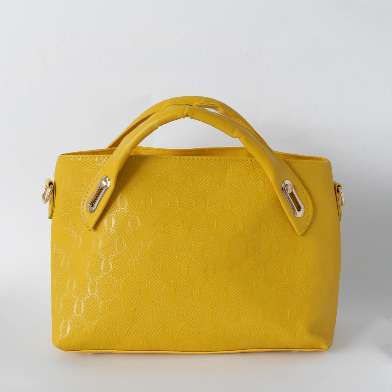 7f687966657 Яркая женская сумка из экокожи желтая купить по выгодной цене в Украине.  женские ...