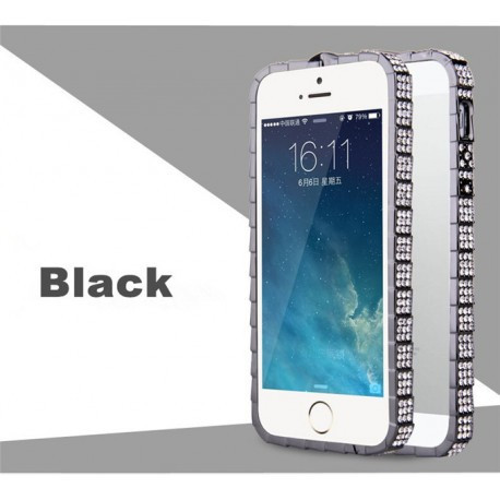 Бампер Bulgari Black Luxury Snake cо стразами для iPhone 6/6S (4.7) infinity
