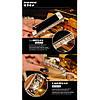 Бампер Bulgari Black Luxury Snake cо стразами для iPhone 6/6S (4.7) infinity, фото 8