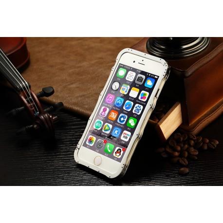 Бампер iMatch алюминиевый на IPhone 6/6S (4.7) Серебристый infinity