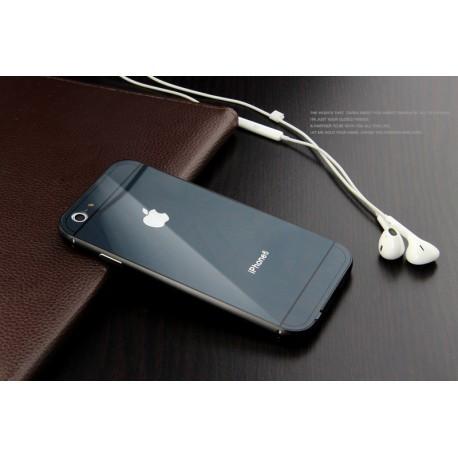Чехол Накладка металлическая Apple для IPhone 6 Plus/6S Plus Grey infinity