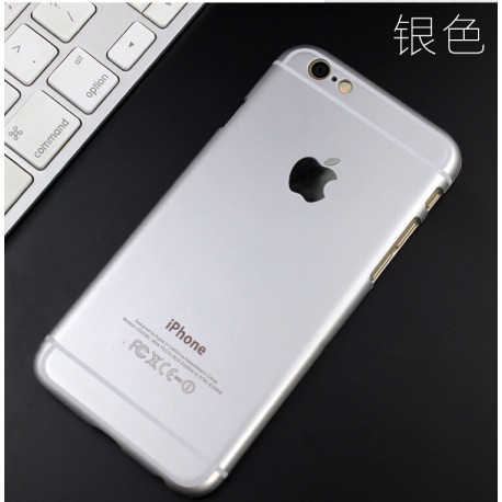 Ультратонкий чехол APPLE Для  iPhone 6 Plus/6S Plus (5.5) Серебристый infinity