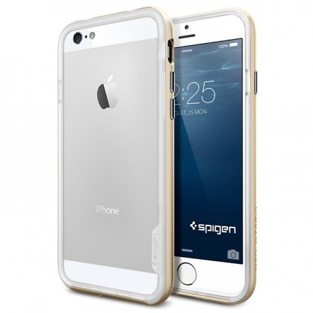 Бампер SGP Neo Hybrid EX Series для iPhone 6 Plus/6S Plus Золотой infinity