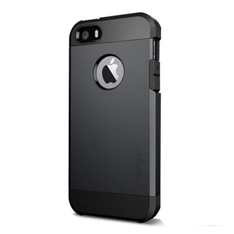 Spigen Tough Armor Case for iPhone 5/5S - Black infinity