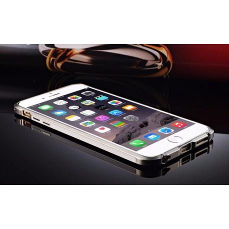 Алюминиевый Бампер для Iphone 6+/6s+ Серебристого цвета infinity