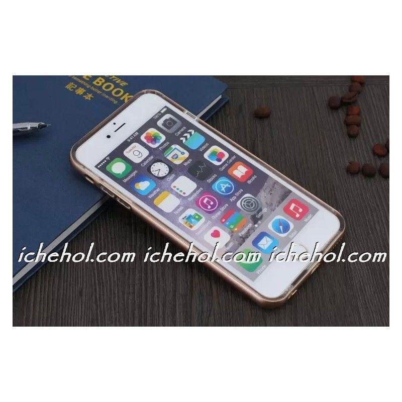 Силиконовый чехол для iPhone 6/6s с алюминиевым бампером infinity