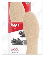 Зимові розмірні устілки Kaps Wool (шерсть на латексі) 36