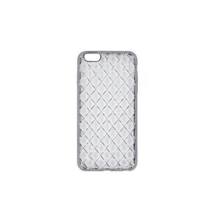 Силиконовый чехол накладка для iPhone 6/6S Grey infinity