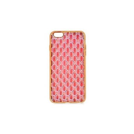 Силіконовий чохол накладка для iPhone 6/6S Pink infinity