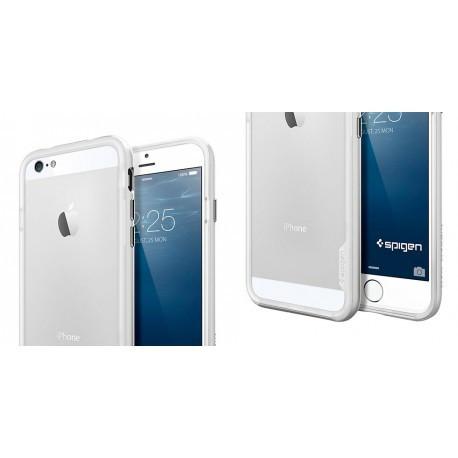 Bumper Spigen Neo Hybrid for iPhone 6/6S Satin Silver infinity