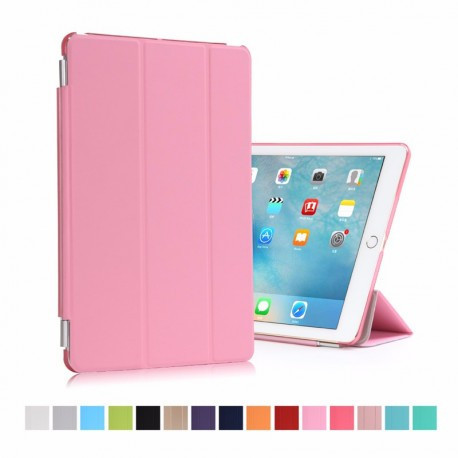 Smart Cover + пластиковая накладка для iPad 2/3/4 Розовая infinity