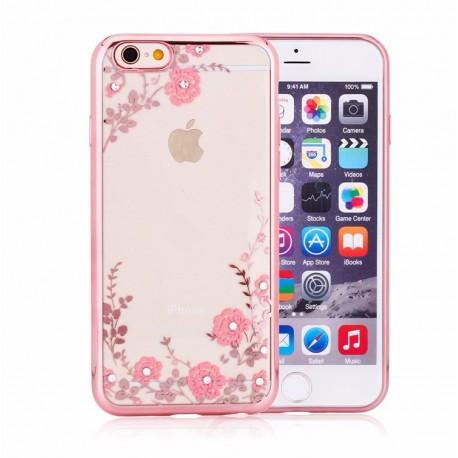 Силиконовый чехол для iPhone 6/6s Rose Розовый infinity
