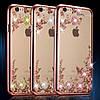 Силиконовый чехол для iPhone 6/6s Rose Розовый infinity, фото 3