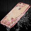Силиконовый чехол для iPhone 6/6s Rose Розовый infinity, фото 5