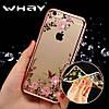 Силиконовый чехол для iPhone 6/6s Rose Розовый infinity, фото 6