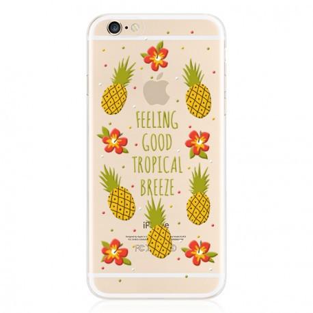 Силиконовый чехол для iPhone 6/6s Pineapple infinity
