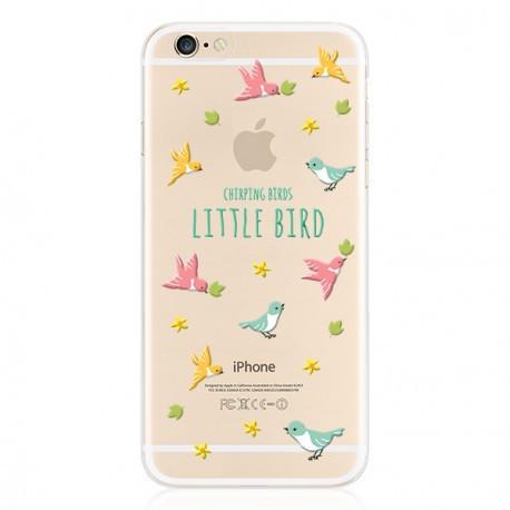Силиконовый чехол для iPhone 6/6s Little Bird infinity