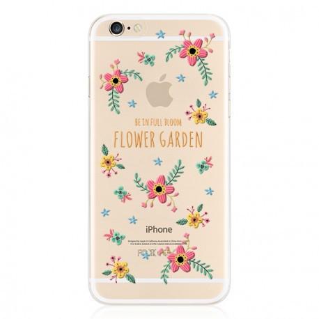 Силіконовий чохол для iPhone 6/6s Flower Garden infinity