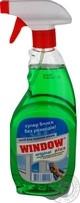Средство для мытья окон Window Plus зеленый распылитель 500мл