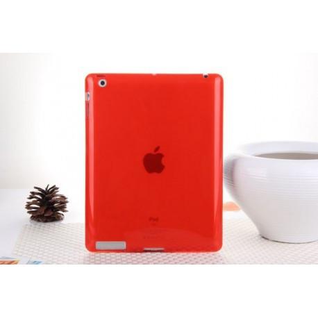 TPU Силиконовый для iPad 2/3/4 Красный infinity
