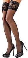 Эротические чулки  Cottelli Collection Hold-up Stockings от Orion