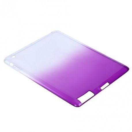 TPU Силиконовый для iPad 2/3/4 градиент фиолетовый infinity