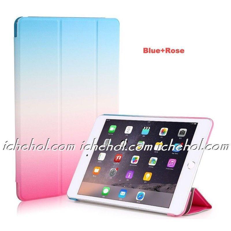 Чехол Smart Case для IPad 2/3/4 радуга голубой/розовый infinity