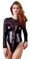 Еротичне боді Cottelli Collection Lace Wetlook Body від Orion