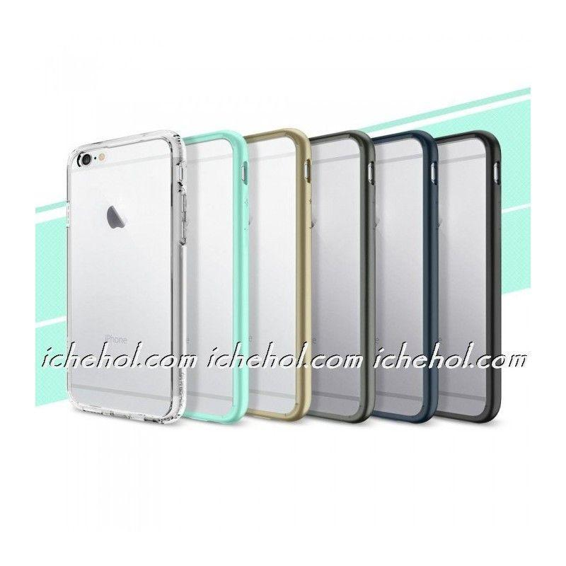 Бампер SGP Neo Hybrid EX Slim  для iPhone 5/5S Белый/Серый infinity