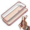 Силиконовый чехол со стразами  для Iphone 7 Plus Розовое золото infinity, фото 2