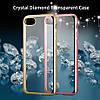 Силиконовый чехол со стразами  для Iphone 7 Plus Розовое золото infinity, фото 3