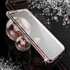 Силиконовый чехол со стразами  для Iphone 7 Plus Розовое золото infinity, фото 7