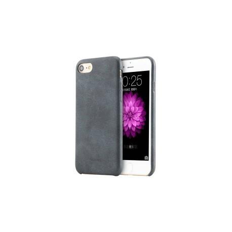 Ультратонкий кожаный чехол USAMS Touch Series для iPhone 7 Черный infinity