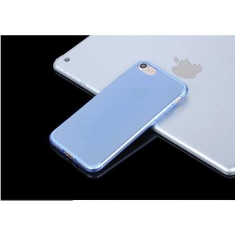 Силиконовый чехол для  iPhone 7 Plus Голубой infinity