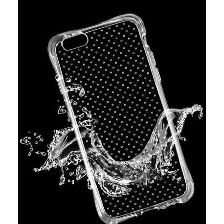 Силиконовый противоударный чехол  для  iPhone 7 Прозрачный infinity