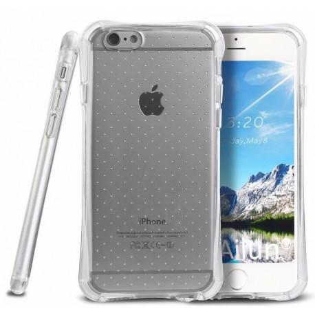 Силиконовый противоударный чехол  для  iPhone 7 Серый infinity