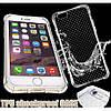 Силиконовый противоударный чехол  для  iPhone 7 Серый infinity, фото 3