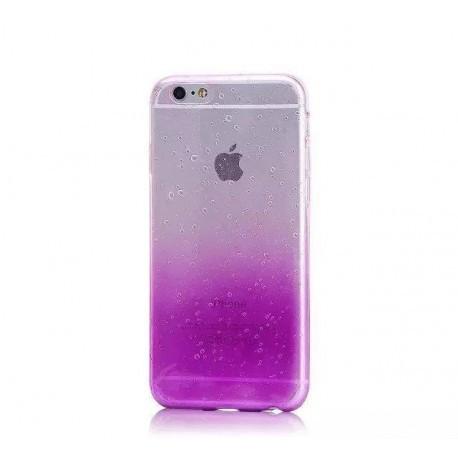 Силиконовый чехол с градиентом  для  iPhone 7 Plus Фиолетовый infinity